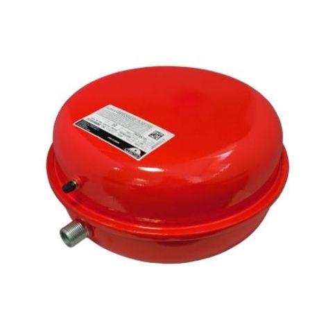 Zilmet Oem Pro Heating Expansion Vessel For Boiler 8C Litres Red