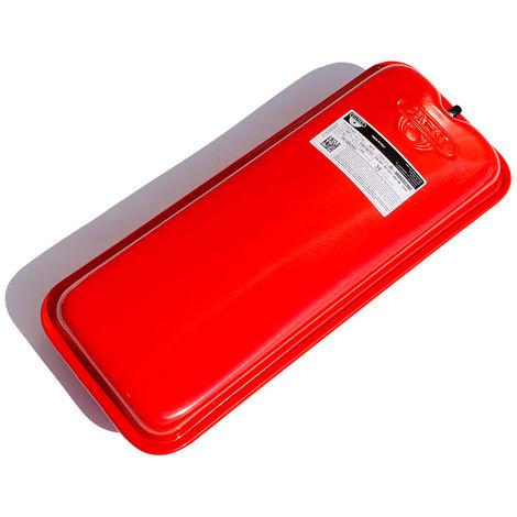 Zilmet Oem Pro Heating Expansion Vessel For Boiler Flat 7.5 Litres Red