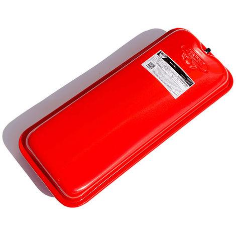 Zilmet Oem Pro Heating Expansion Vessel For Boiler Flat 8 Litres Red