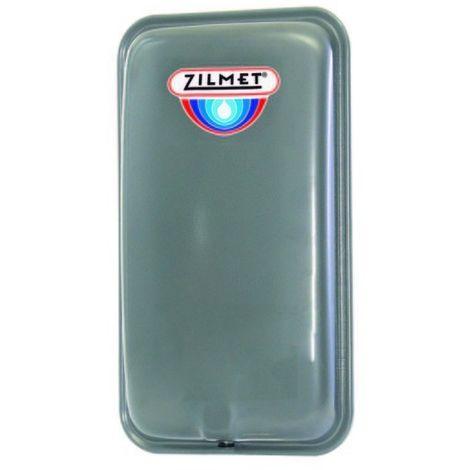 Zilmet Oem Pro Heating Expansion Vessel For Boiler Flat 8 Litres Silver