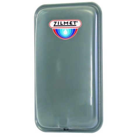 Zilmet Oem Pro Heating Expansion Vessel For Boiler Flat 8N Litres Silver