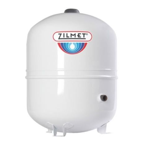 Zilmet Solar Plus Expansion Vessel For Solar Systems With Feet 35 Litres White