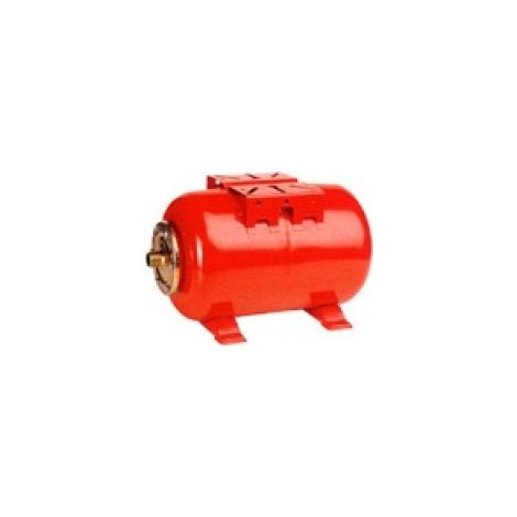 Zilmet Ultra Pro Potable Water Expansion Vessel Horizontal 100 Litres Red