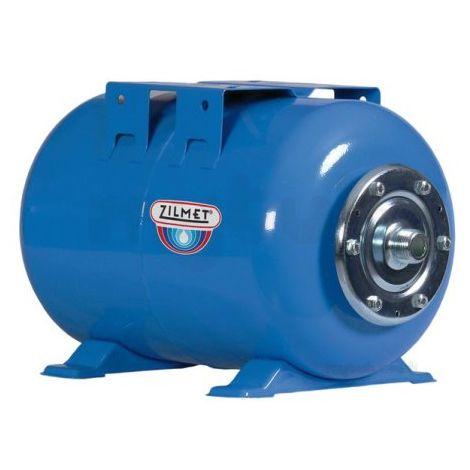 Zilmet Ultra Pro Potable Water Expansion Vessel Horizontal 24A Litres Blue