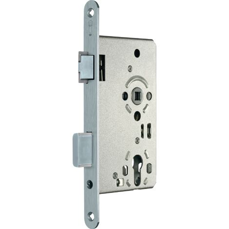 Zimmertür-Einsteckschloss nach DIN 18251-1 Kl. 3 PZW DIN li. Dorn 65 mm Entf. 72