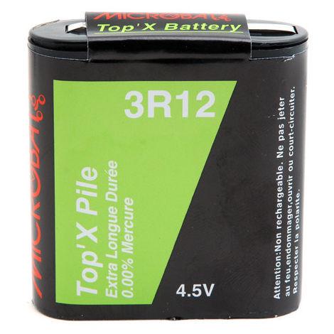 Zinc battery (blister) 3R12 4.5V 1200mAh
