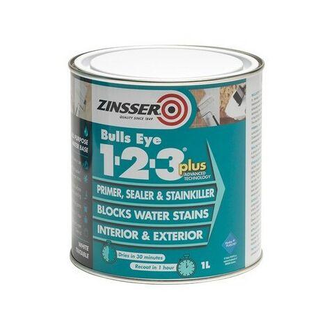 Zinsser Bulls Eye 1-2-3 Plus (select size)