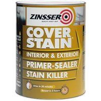 Zinsser Cover Stain - Primer Sealer Paint - All Sizes