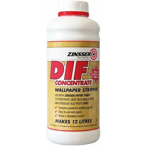 Zinsser Dif - Wallpaper Stripper - Fast And Easy Removal Of Wallcoverings