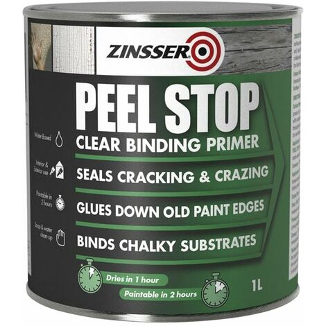 Zinsser Peel Stop Paint - Clear, Flexible Bridging Primer Sealer
