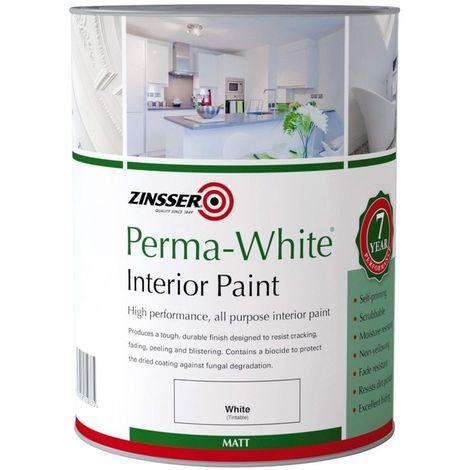 Zinsser Perma-White Interior Eggshell (select size)