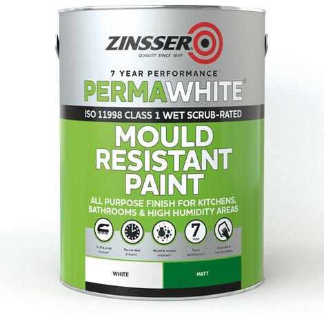 Zinsser Perma-White Interior Eggshell (select size)
