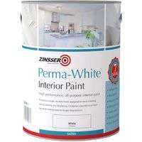 Zinsser Perma White Interior Paint - Matt / Satin