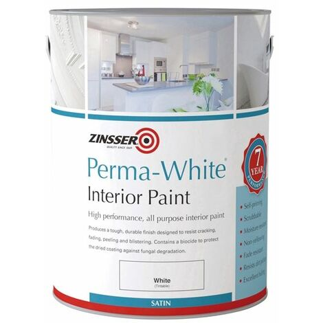 Zinsser Perma-White Interior Satin (select size & finish)