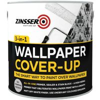 Zinsser Wallpaper Cover Up Paint 2.5L.