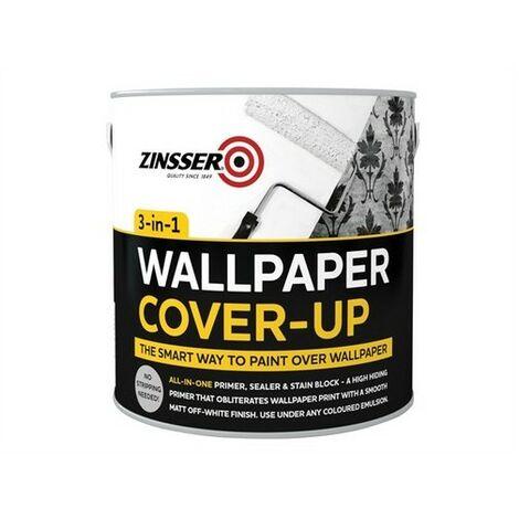 Zinsser ZINWCU25L Wallpaper Cover Up 2.5 Litre
