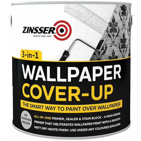 Zinsser ZN7370001C1 Wallpaper Cover-Up 2.5 litre