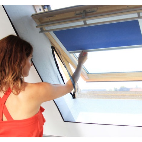 Zipped Fly Screen for Roof Windows