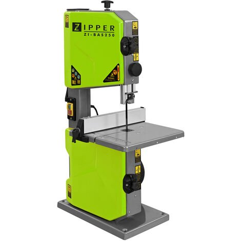 Zipper ZI-BAS250 115mm Bench Top Bandsaw - 230v