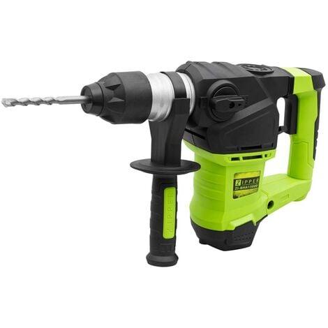 Zipper Zi-BHA1500 1500w SDS Rotary Hammer Drill + Demolition Chisel   5.5J 230v