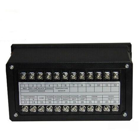 Zl-7918A Multifonctions Controleur Automatique Incubateur Automatique Temperature Humidite Controleur Xm-18