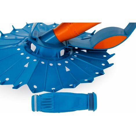 Zodiac Kontiki 2 Robot Idraulico per Piscine, Blu/Arancione, 48x20x40 cm