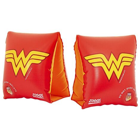 Zoggs Swimming Pool Float Arm Bands Wonder Woman Childrens Kids 1-6 Years
