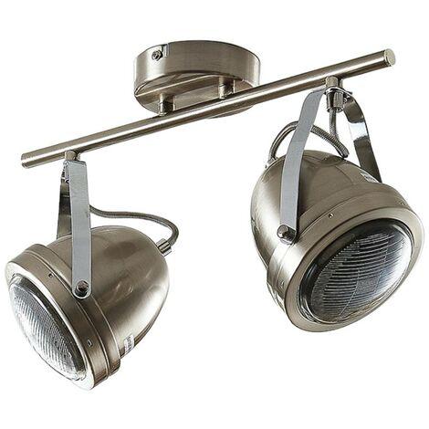 Zoja ceiling spotlight, 2-bulb
