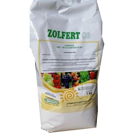 """main image of """"Zolfo agricolo bagnabile correttivo vite frutticoltura ortaggi kg1 zolfert 80"""""""