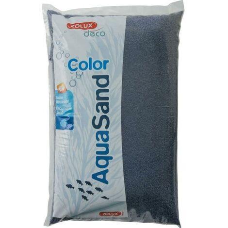 ZOLUX Sable décoratif Coloré - Bleu outremer - 12 kg - Pour aquarium