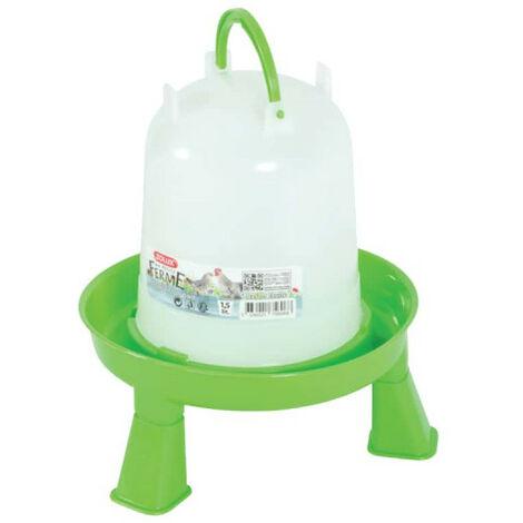 ZOLUX standing water trough - Blanc-Vert - 1,5L - 175606
