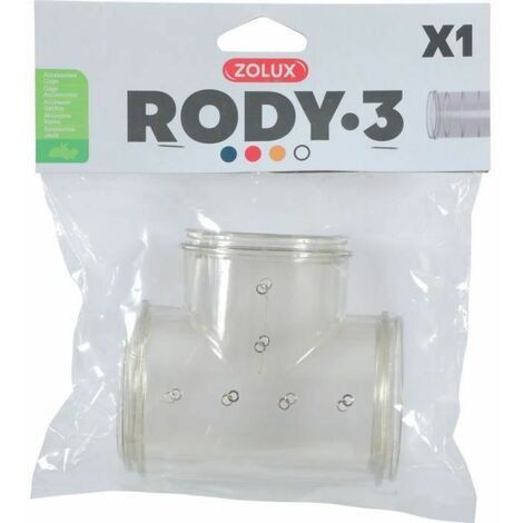 ZOLUX Tube en T pour cage rongeur Rody3 - Roylounge