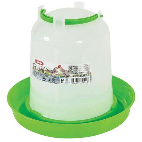 ZOLUX Water Trough - Green - 1.5 L - 175601