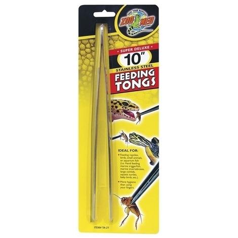Zoo Med Feeding Tongs Steel