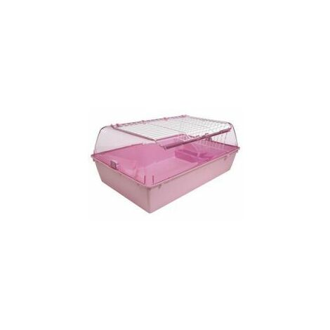 Zoo Zone Critter Home - Medium Pink - med - 517064