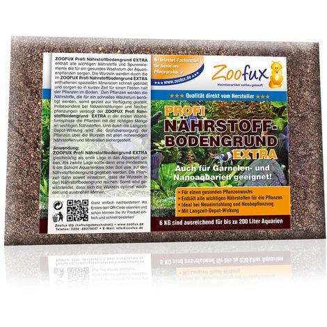 ZOOFUX Profi Aquarium Nährboden Bodengrund für ein bis zu 400 Liter Aquarium