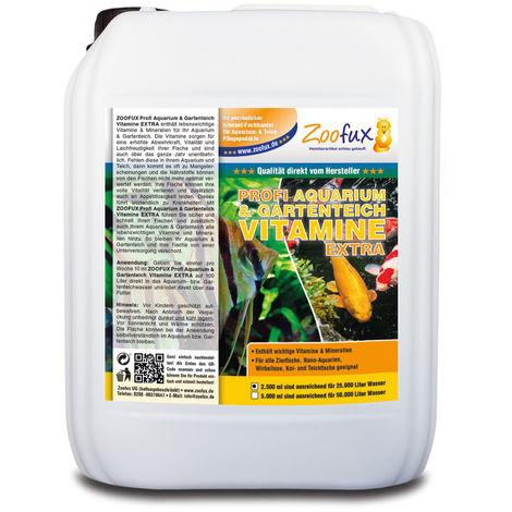 ZOOFUX Profi GARTENTEICH & Aquarium Vitamine EXTRA