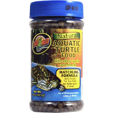 Zoomed - Alimentation en Granulés Baby pour Jeunes Tortues Aquartiques - 45g