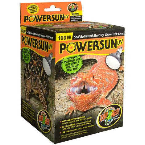 Zoomed - Ampoule Chauffante PowerSun UV PUV10 pour Terrarium - 160W