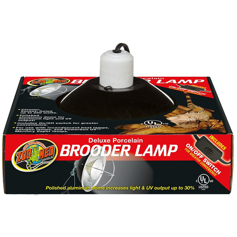 Zoomed Deluxe Porcelain Clamp Lamp 22cm - porta lampada in ceramica ad alta resistenza