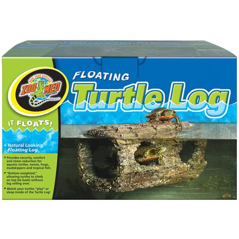 Zoomed Floating Turtle Log (30x15x15cm) - Tronco galleggiante per tartarughe