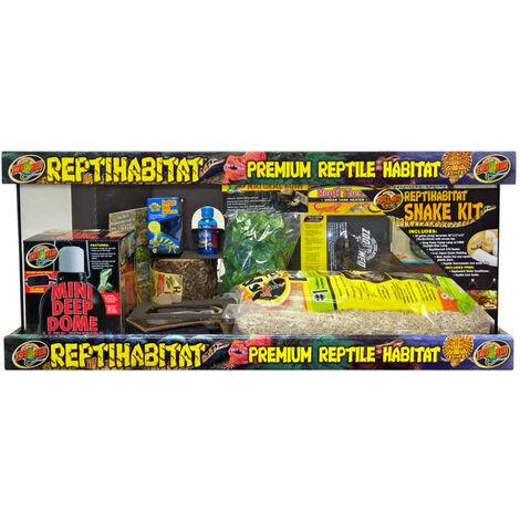 Zoomed - Kit Terrarium ReptiHabitat pour Serpent