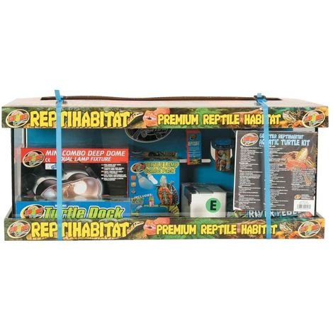 Zoomed - Kit Tortues Aquatiques Premium Reptile Habitat - 68L
