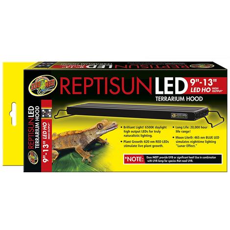 "Zoomed Reptisun LED 9-13"" cm22-33"