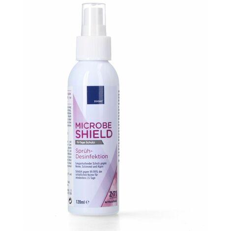 Zoono Z-71 Micobe Shield 20x désinfectant de surface 120 ml Protection pendant au moins 15 jours sur les surfaces contre 99,99% de tous les germes (certifié selon PAS 2424 / EN13697 / EN1276 / EN1650)