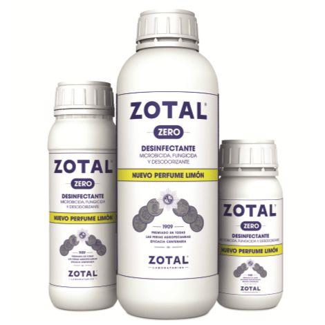 ZOTAL ZERO 250 ml, desinfectante, microbicida y desodorizante.