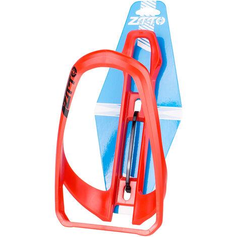 ZTTO Soporte para botella de agua Soporte para portavasos de bicicleta Soporte para botella de bebida para motocicleta, Rojo