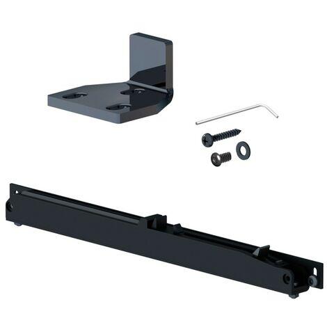 Schiebetürsystem  für Schiebetüren 2 x 60 kg Schienen flach bis 1850 mm