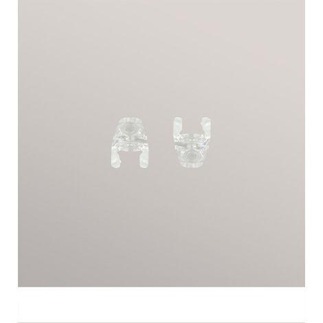Zubehör Kettenverbinder für Rollo Grande aus Kunststoff - in transparent - B 10mm H 13mm 13159-36225