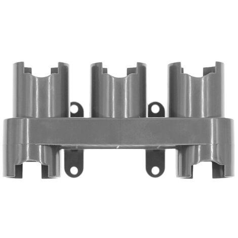 Zubehorhalter Organizer Kompatibel mit Dyson V7 V8 V10 V11 Staubsauger Zubehor Kleiderbugel Dockingstation Grau 1 Pack